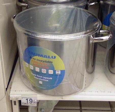 Traiteur inox 30 litres
